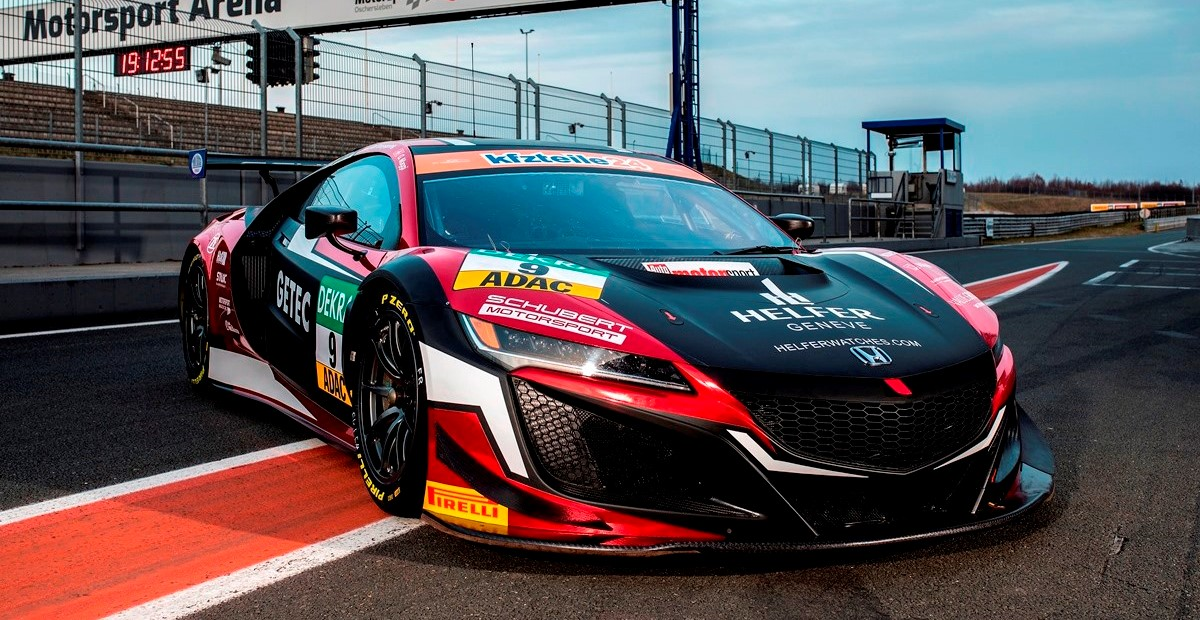schubert motorsport return to the adac gt masters with a honda schubert motorsport. Black Bedroom Furniture Sets. Home Design Ideas