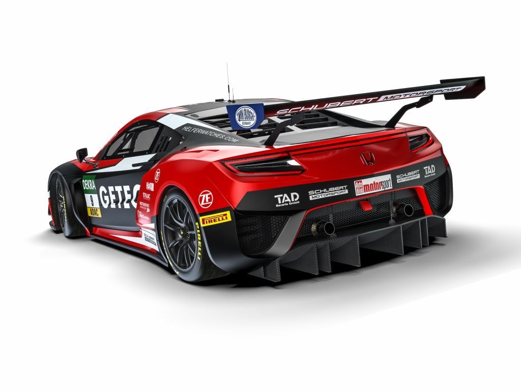 honda nsx gt3 schubert motorsport. Black Bedroom Furniture Sets. Home Design Ideas